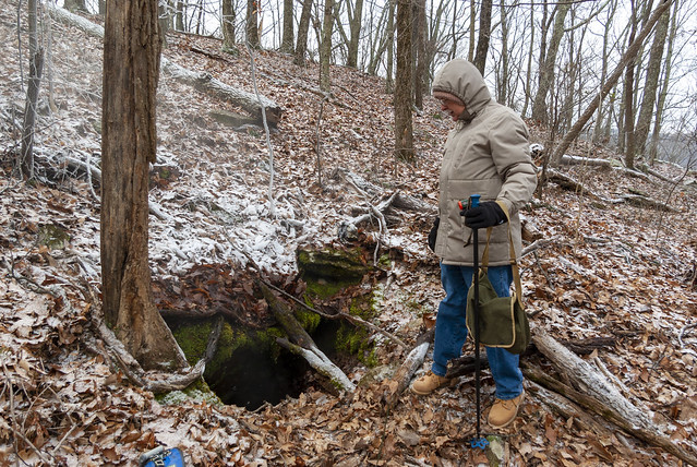 Karst feature, Roy Price, Putnam County, Tennessee