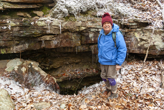 Karst feature, Gerald Moni, Putnam County, Tennessee