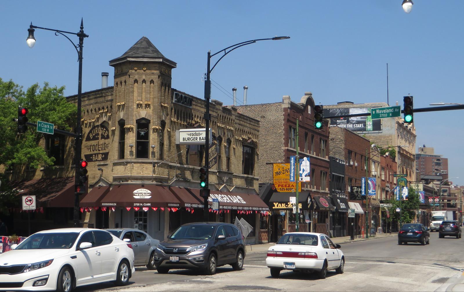 Wrigleyville, Chicago, Illinois
