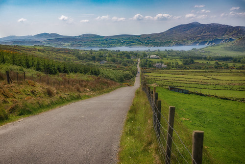 fence hill ireland lough loughswilly shawnharquail swilly travel fencefriday lake landscape mountains panorama road shawnharquailcom travelphotography vista