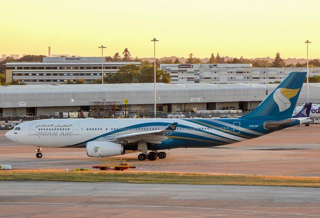 Oman Air Airbus A330-243 A4O-DF