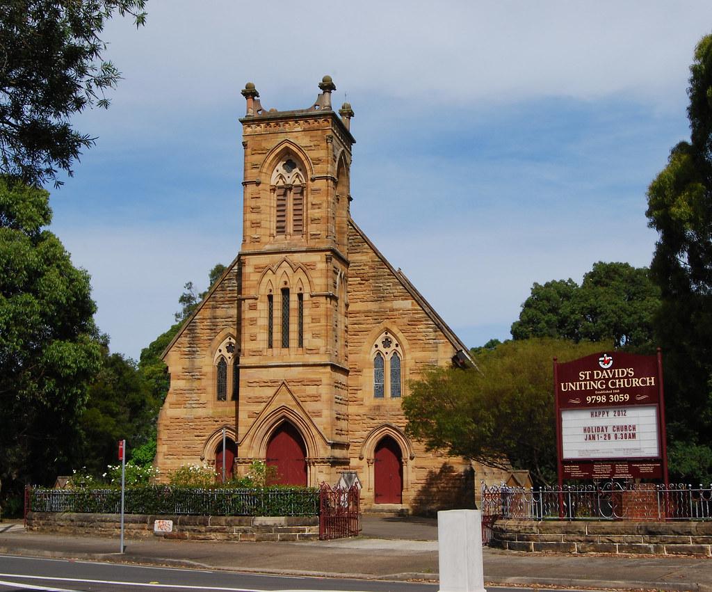 St David's Uniting Church, Haberfield, Sydney, NSW.