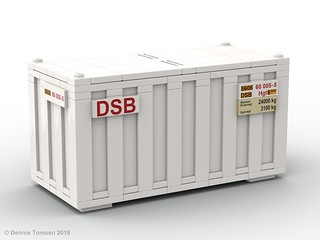 DSB 20 ft Container