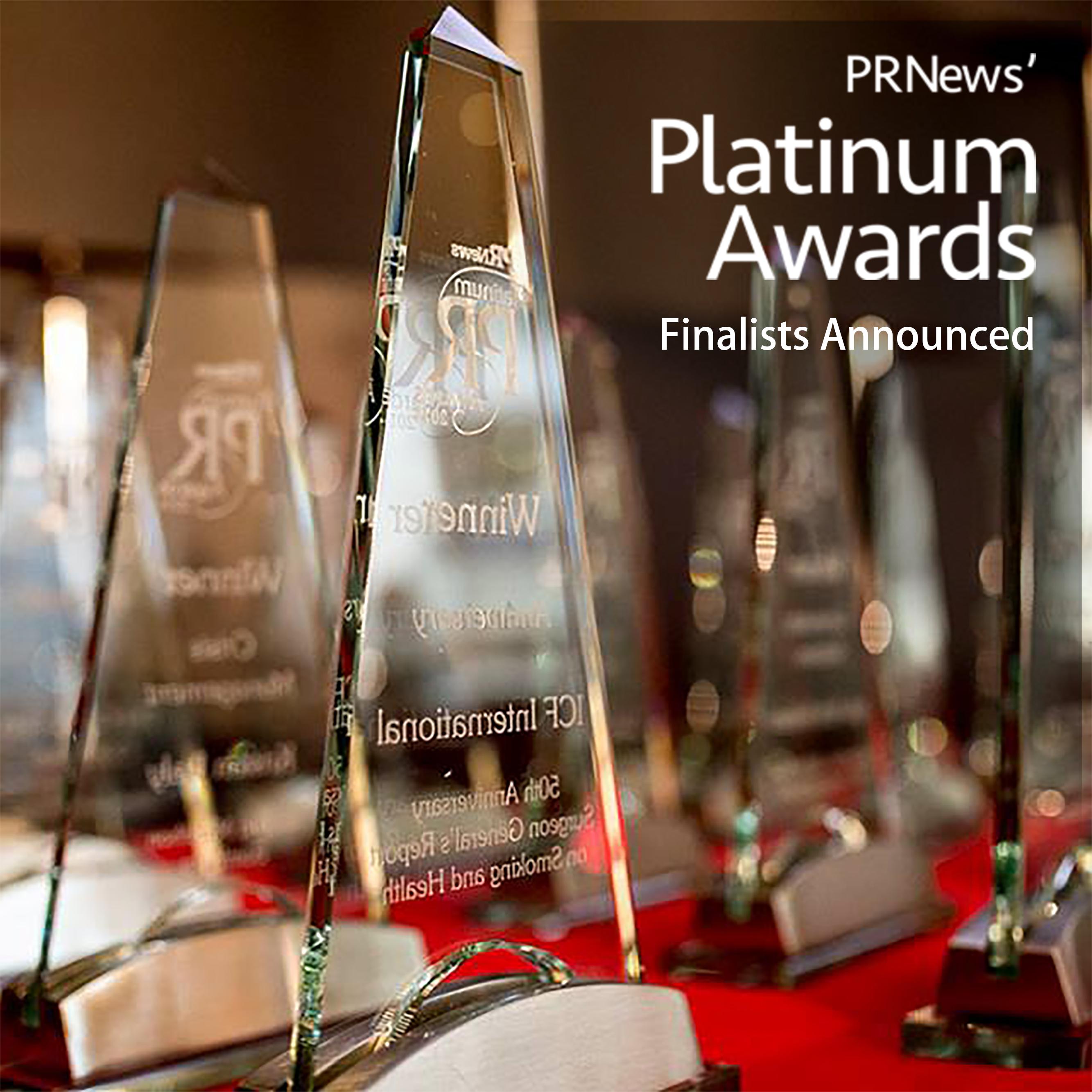 PR News Platinum PR Awards