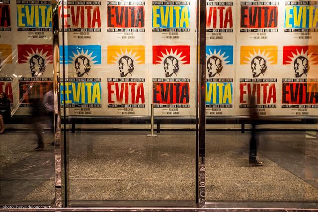 Broadway : Evita's poster