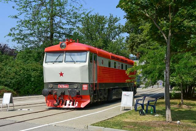 T478 1010 (751 010-0) / Brno (výstaviště BVV) / 29.6. 2018