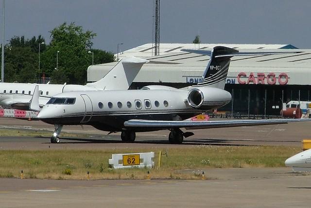 Gulfstream G650 VP-BCT (c/n 6169)