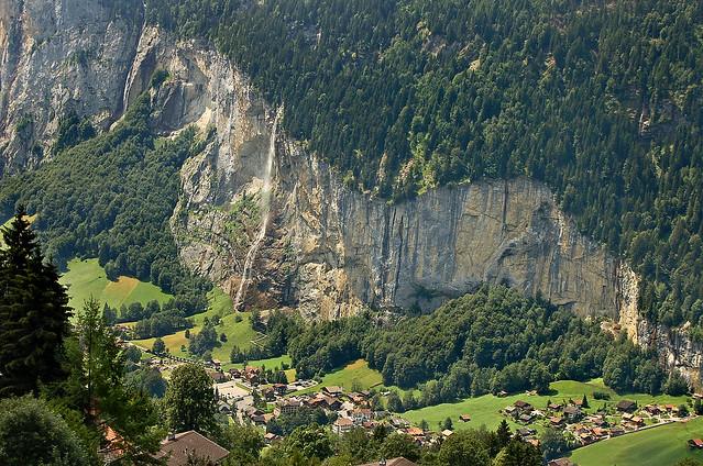 Staubbach Falls, Lauterbrunnen - 23 Jul 2006