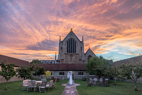 architecture oxford oxfordshire sky ststephenshouse sunset theologicalcolleges 交天 教堂 牛津 牛津大学 英国