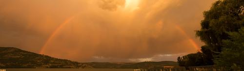 parkercove rainbow britishcolumbia canada ca vernon okanaganlake okanagan panorama