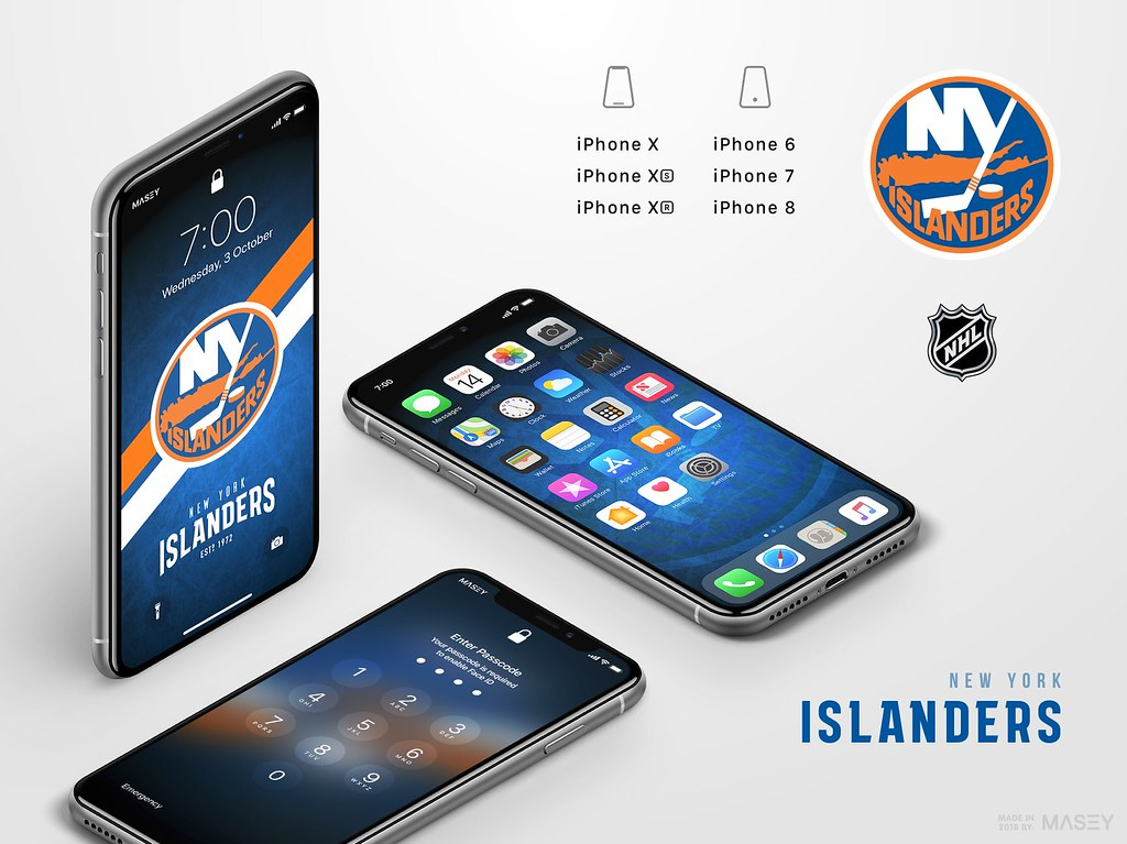 New York Islanders iPhone Wallpaper