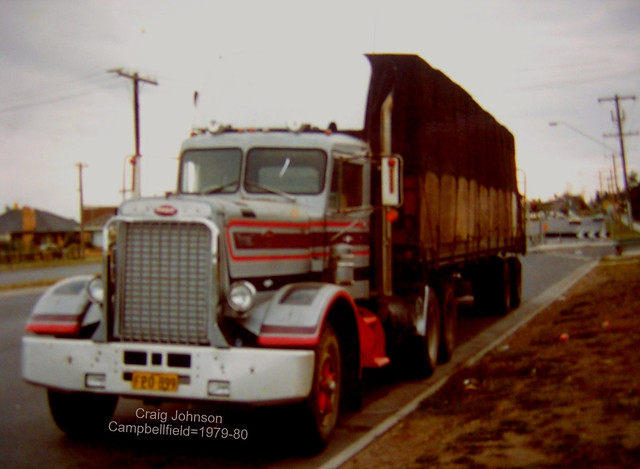 Peterbilt at Campbellfield Melbourne