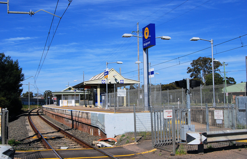 Railway Station, Mulgrave, Sydney, NSW.