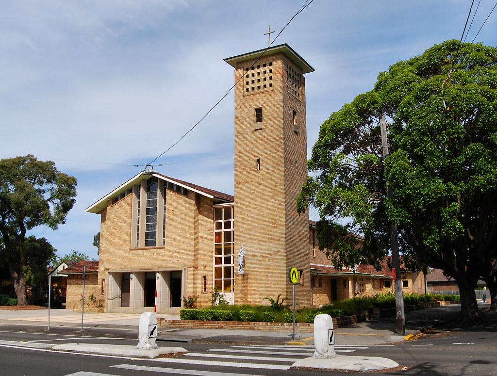 St Joan of Arc Catholic Church, Haberfield, Sydney, NSW.