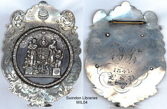 1841: Swindon Oddfellows Sash Badge by Local Studies, Swindon Central Library