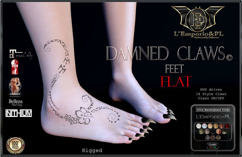 L'Emporio&PL::*Damned Claws©*:: _Flat Feet