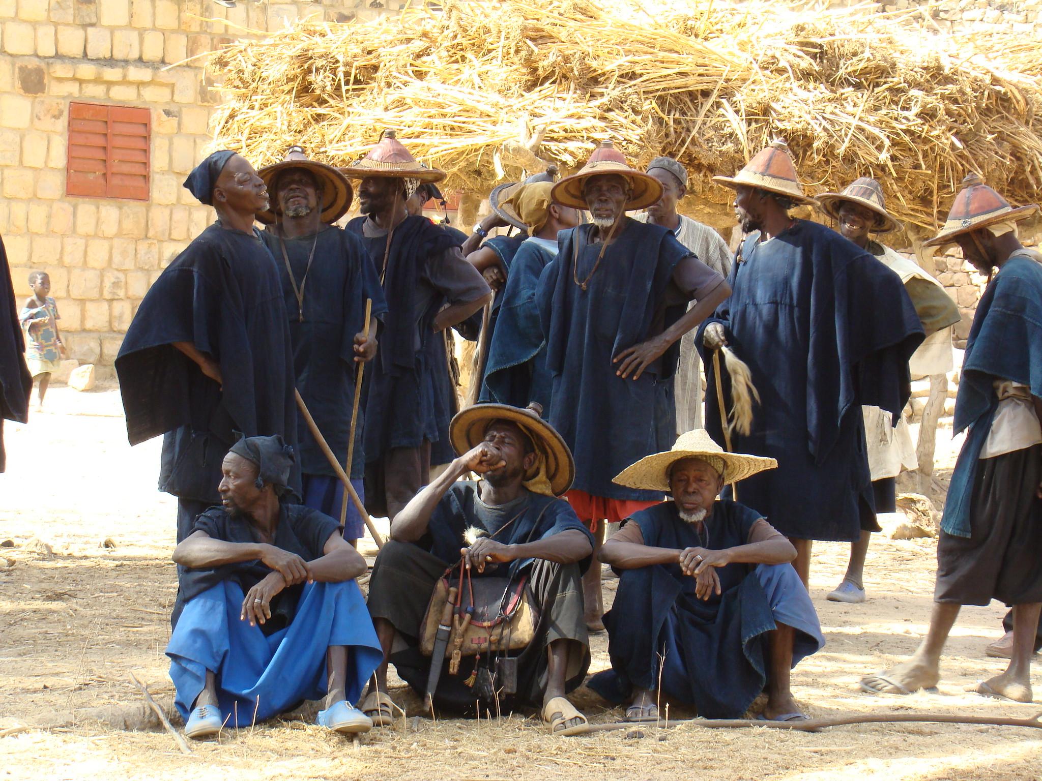 Gente del Pais Dogon Mali