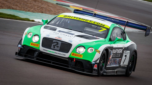 #7 Team Parker Racing's Bentley Continental GT3 British GT Donington Park 2018 | by Xtra Photographic