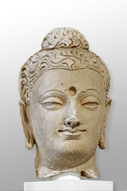 Tête de Bouddha (Musée Guimet / MNAAG, Paris)