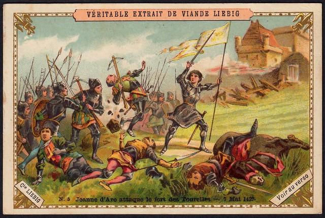 Liebig Tradecard S270 - Joan of Arc
