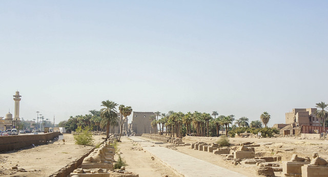 Egypt's Luxor Temples Complex