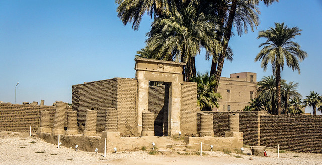 Chapel of Serapis at Egypt' Luxor Temple