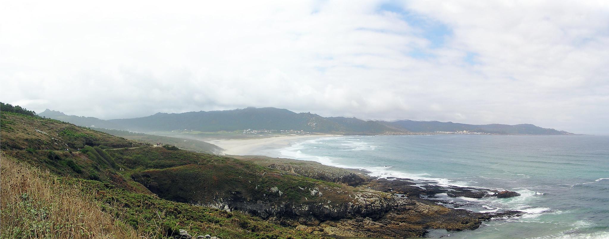 playa Costa da Morte Laxe a Camelle La Coruña Galicia