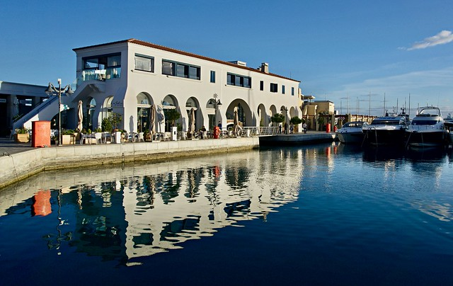 Afternoon Reflections - Limassol marina, Cyprus