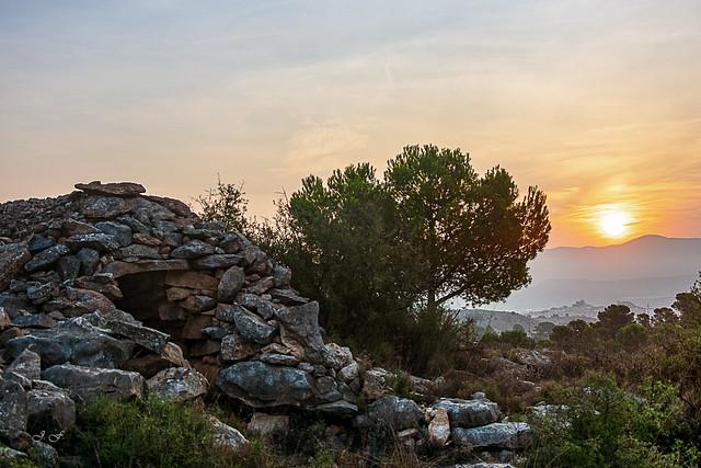 Refugio de pastor en las montañas de Monovar - Alicante