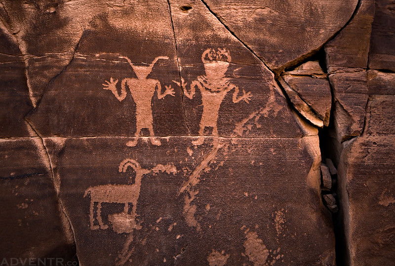 Three Petroglyphs