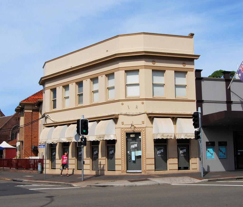 Building, Haberfield, Sydney, NSW.