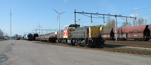 Railion 6501 Westhaven Amsterdam