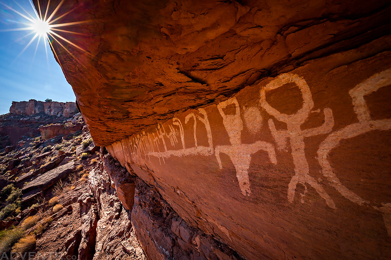 Pictographs Under The Sun