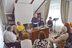 Dan Toma Dulciu prof dr Theodor Codreanu cuvânt la simpozionul Un an sub semnul lui Eminescu la  CCS  Varatic, 28 iulie 2018