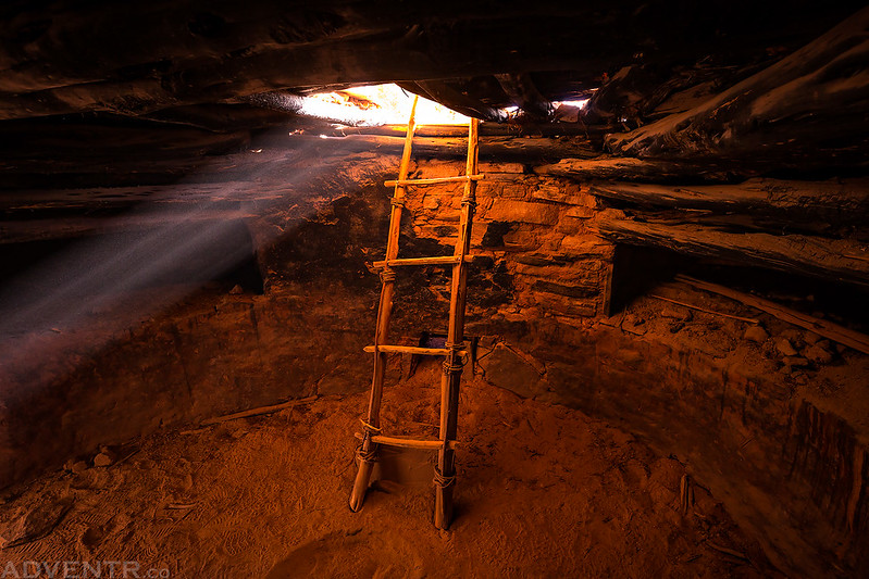 Perfect Kiva Replica Ladder