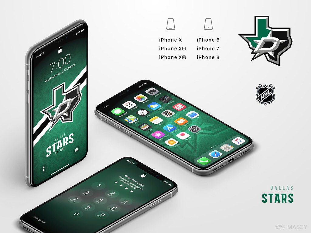 Dallas Stars iPhone Wallpaper