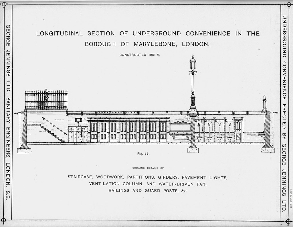 Underground Convenience, Marylebone. George Jennings Ltd.