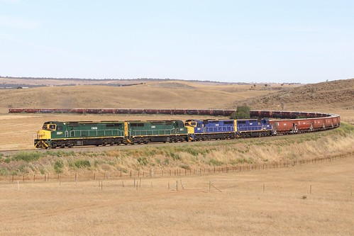 train 2503s c506 c510 c504 c507 ssr trains rail railway sa south australia adelaide cs rare grain callington