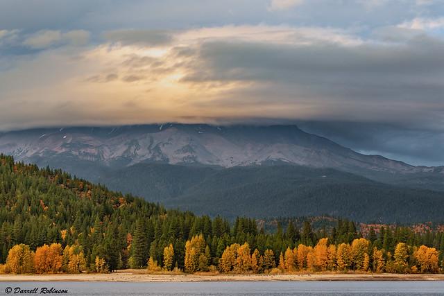 Autumn Cloud Cover at Mt. Shasta