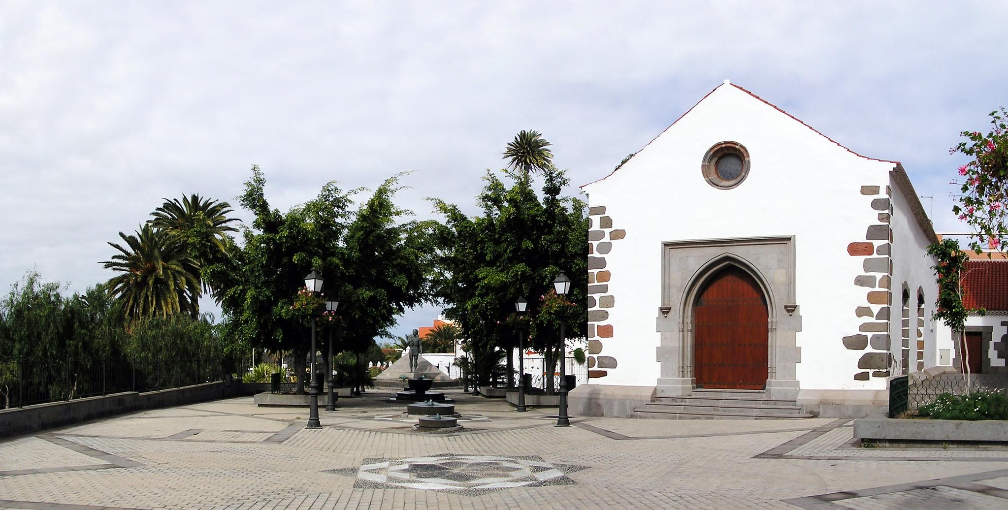 Iglesia Hospitalaria de San Pedro Martir de Verona centro de exposicion de Historia de Telde isla de Gran Canaria