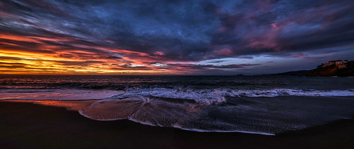 beach morning light