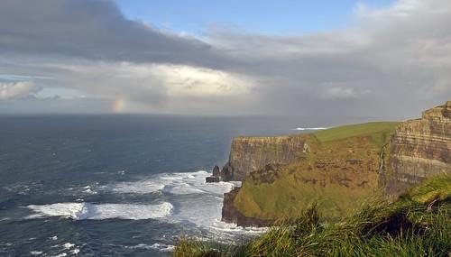 cliffsofmoher ireland rainbow countyclare 1025fav