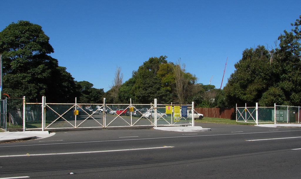 Entrance Randwick Raceouse Tramway Sidings, Kensington, NSW.