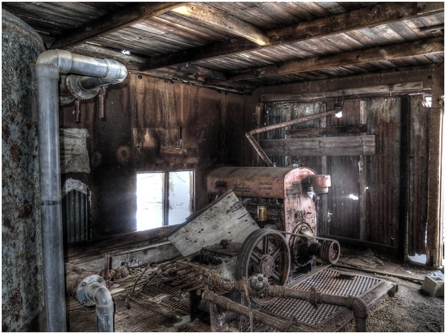 Abandoned Old Pump House