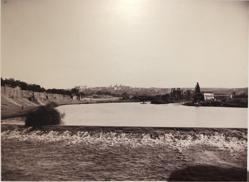 Fotografía de Pedro Román Martínez. Río Chico a comienzos del siglo XX.