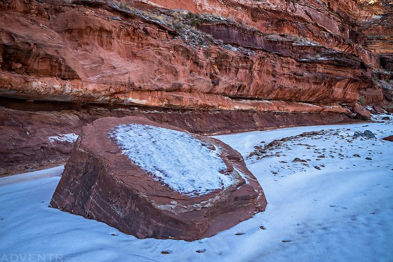 Canyon Boulder