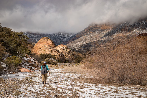 Hiking Under The Clouds | by IntrepidXJ