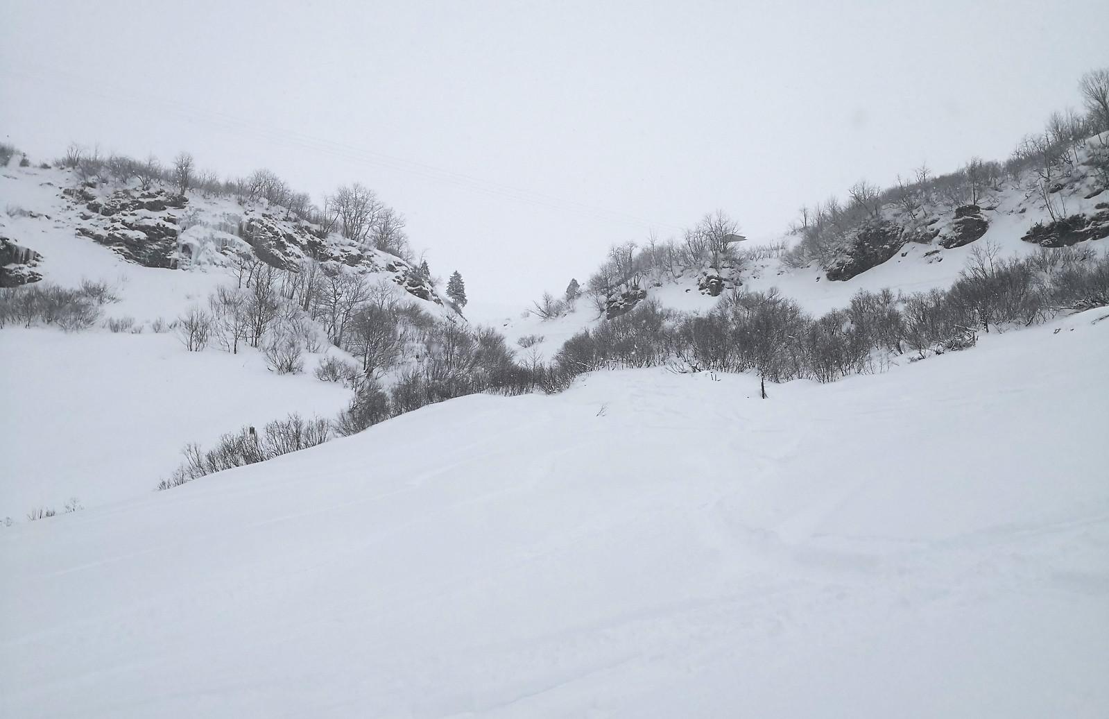 Off piste terrain