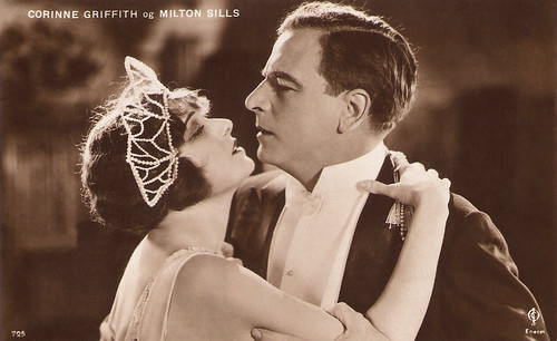 Corinne Griffith and Milton Sills in Single Wives (1924)