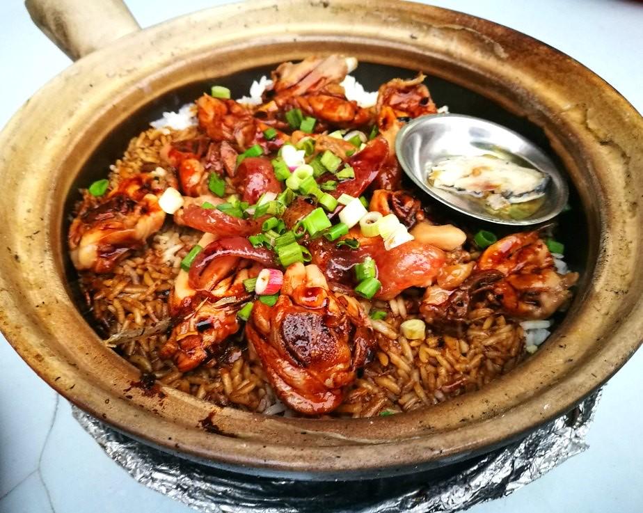 Singapore Cuisine: Clay Pot Rice